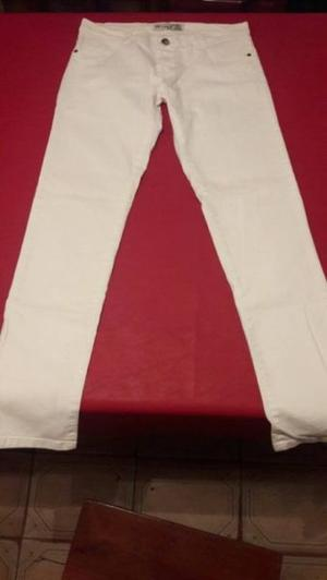 JEANS BLANCOS - TALLE 44