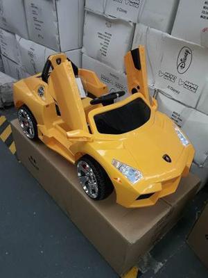 Lamborghini 12 Volts A Bateria Con Luz Y Sonido C/ Rc