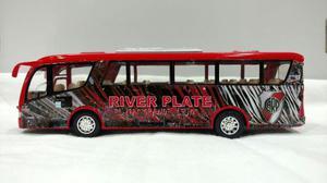 Micro Colectivo River Plate Metalico