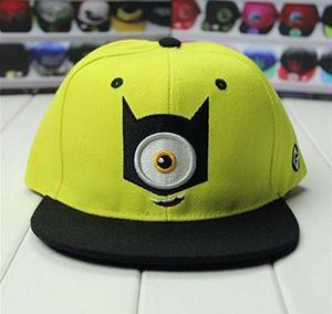 Unisex Cartoon Hip Hop Hats Snapback Baseball Caps (minions