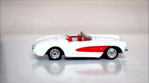 Welly 1/60 Chevrolet Corvette A Friccion Metal 7cm Once