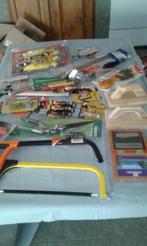 vendo saldo de herramientas varias de ferreteria