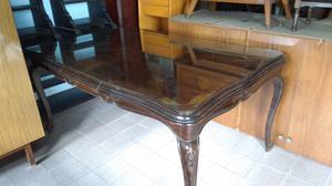 Importante mesa antigua estilo provenzal