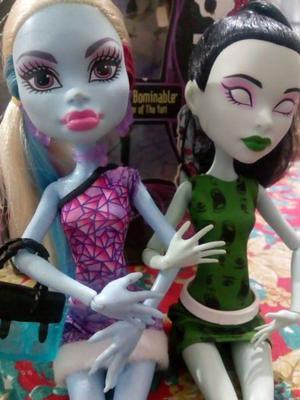 Muñecas Monster High x2