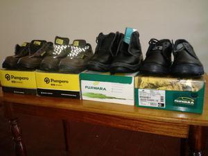 Vendo Combo de zapatos de seguridad SIN USO. Todos T.43