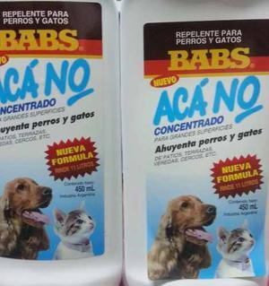 Aca No Concentrado X 450ml Ahuyenta Perro Y Gatos
