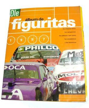 Album De Figuritas Tc Automovilismo Ole Tc Autos
