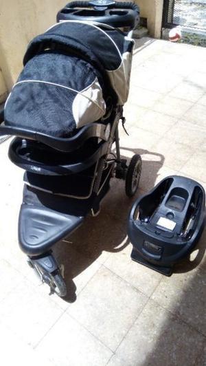 Coche bebé 3 ruedas impecable!