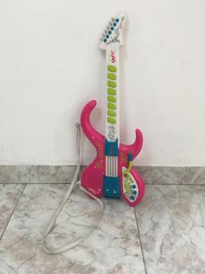 Guitarra de Juguete Barbie con Sonido y Tira para colgar