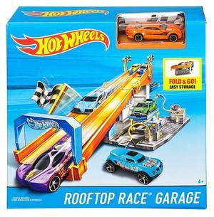 Hot Wheels pista y taller de carrera. Autitos Hotwheels