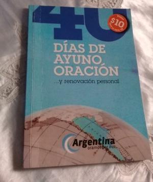 LIBRO 40 DIAS DE AYUNO - EDICION