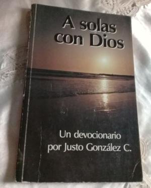LIBRO A SOLAS CON DIOS - EDICION