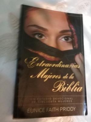 LIBRO EXTRAORDINARIAS MUJERES DE LA BIBLIA- EDICION