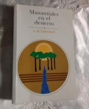 LIBRO MANANTIALES EN EL DESIERTO - EDICION