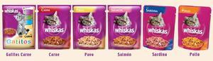 Pouch Whiskas X Pack Cerrado De 24 Unid.gato Sabores Varios