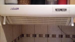 Purificador de aire para cocina con salida exterior.