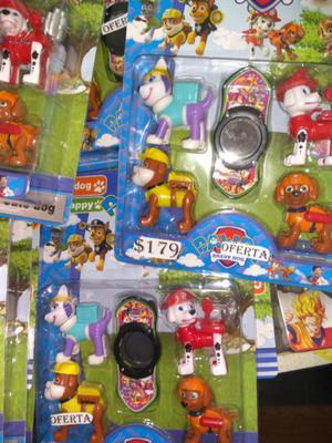 Set Patrulla Canina 5 piezas $ 179 oferta