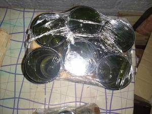 vendo vasos hechos de botellas de vino para Souvenirs los 6