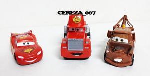 3 Auto Autos Camion Cars 3 + Cars + Camion Mack + Mate $680