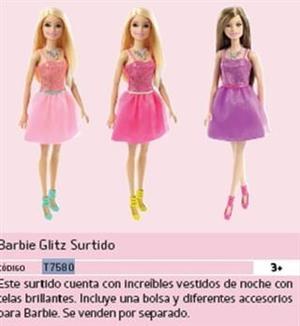 Barbie Glitz Surtido