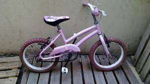 Bicicleta Para Nena Rodado 16 Lista Para Usar!!