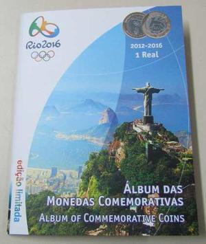 Brasil Album Lleno Monedas Conmemorativas Jjoo Rio