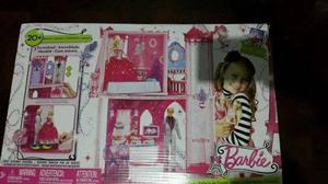 Casa mu ecas barbie mansion con muebles posot class - Casa de barbie con ascensor ...