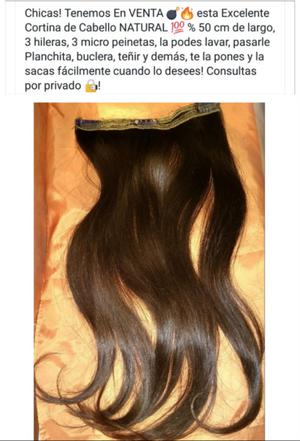 Cortina de Cabello NATURAL
