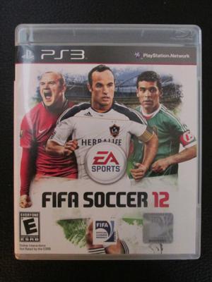 "Juego ""FIFA SOCCER 12"" Fisico PS3"