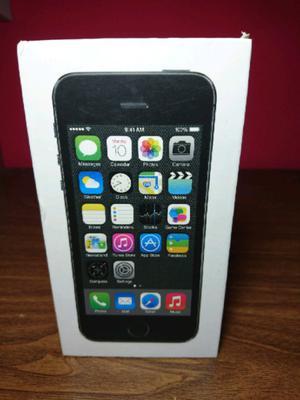 Liquido iPhone 5s de 32 gb completo en caja!