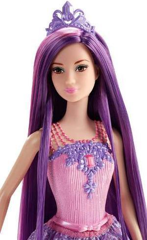 Mattel Barbie Muñeca Princesa Peinados Magicos