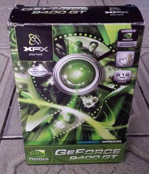 Placa de video NVIDIA GeForce GT - 512MB DDR2