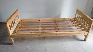 VENDO! Cama marinera de madera de pino (1 plaza)