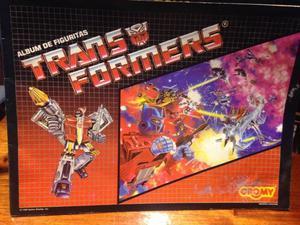 figuritas transformers (cromy) decada 80 VENTA Y CANJE