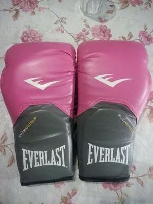 guantes de boxeo Everlast rosa mujer