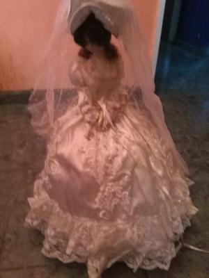 muñeca de casamiento o coleccion