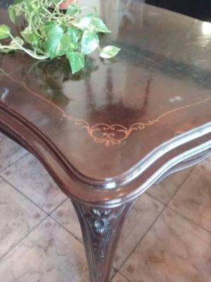 preciosa mesa de estilo PROVENZAL en madera maciza