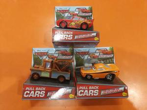 Auto Cars Rayo Mate Sorm Cruz 13cm C/uno Pull Back Jretro