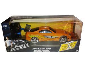 Auto Rapido Furioso Toyota Supra De Brian Radio Control 1:24