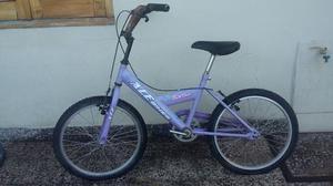 Bicicleta Barbie Rodado 20