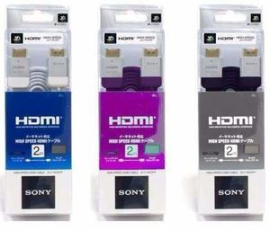 Cable Hdmi Sony Ps3 Premium Full Hd p 3d Led Lcd Oro
