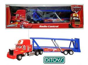 Cars Camion Mack A Radio Control Disney Pixar Orig. Ditoys