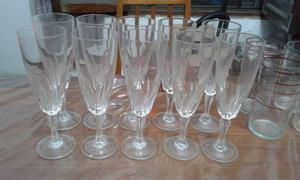Copas de champagne antiguas