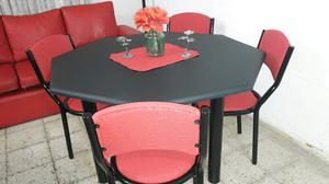Mesa mas 4 sillas con envio incluido