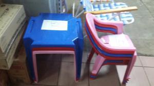 Ofeeta mesas y sillones infantiles