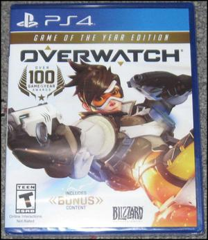 Overwatch Game of the Year Edition PS4 Fisico, nuevo y