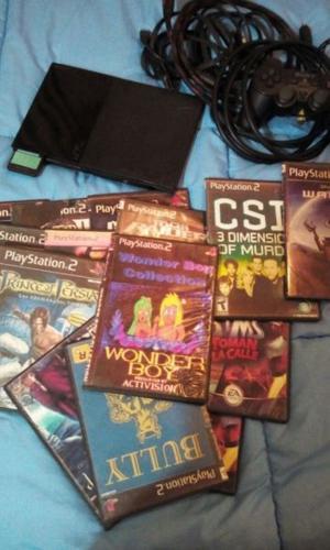 Playstation 2 !!! Juegos De Regalo !!! Oferta !!!