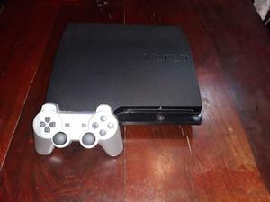 Playstation 3 Slim Con 10 Juegos Originales Y 2 Joystic