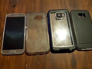 Samsung Galaxy S6 64gb, Fundas Protectoras y Funda LifeProof