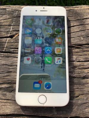VENDO IPHONE 6 SILVER 16 GB EXCELENTE ESTADO